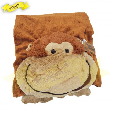 Color Rich - Animal Blanket - Monkey
